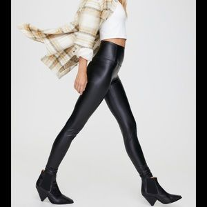 Wilfred Daria Faux Leather Leggings s small